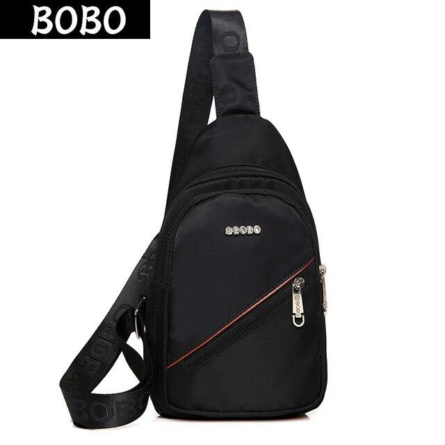 BOBO Marca Nylon Impermeabile Uomini Borse Messenger Sling Uomo Multi  tasche borsa a tracolla casual maschile 7dc90fa6061