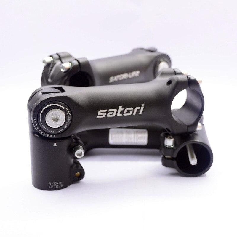 ZTTO 160° Adjustable Riser Compatible With MTB Bike Stem Fork Extension 90//110mm
