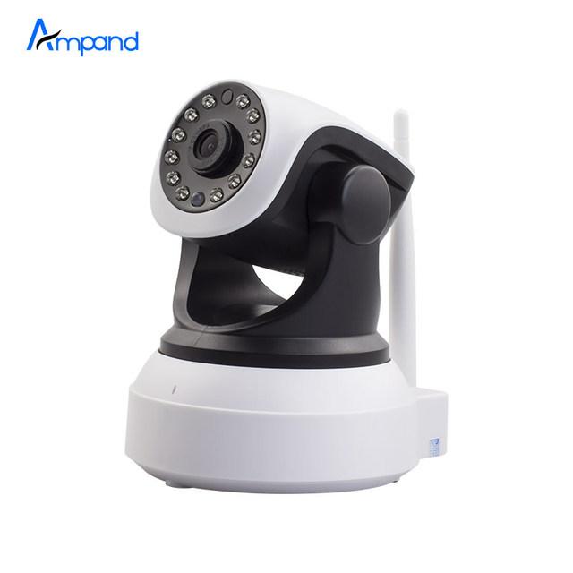 HD 720 P casa de segurança CCTV sem fio wi-fi Câmera de Rede Wi Fi Infravermelho visão Nocturna do IR vigilância interior