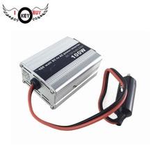 1PC 100W DC12V To AC220V Modified Sine Wave  Car Phone Computer Digital Camera,I KEY BUY Printer Inverter USB Power Converters
