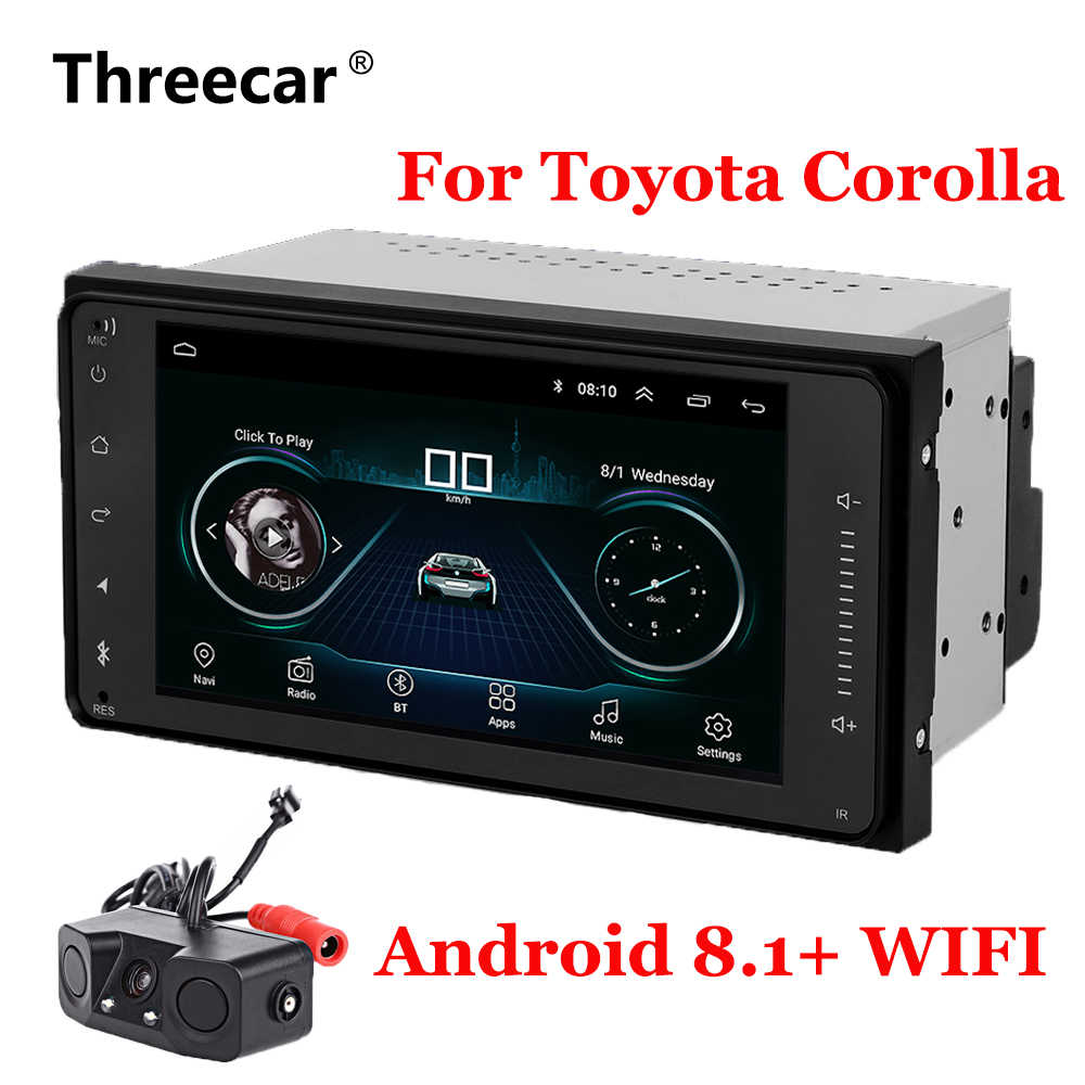 7'' Android 8.1 Car GPS Navigation Radio For Toyota Corolla with WIFI Bluetooth car autoradio Auto Stereo Navi Multimedia Player