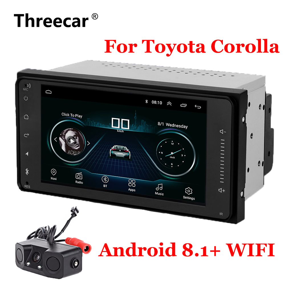 7 Android 8.1 Car GPS Navigation Radio For Toyota Corolla with WIFI Bluetooth car autoradio Auto Stereo Navi Multimedia Player7 Android 8.1 Car GPS Navigation Radio For Toyota Corolla with WIFI Bluetooth car autoradio Auto Stereo Navi Multimedia Player