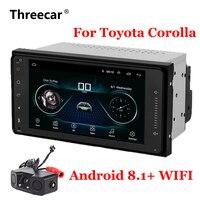 7'' Android 8.1 Car GPS Navigation Radio For Toyota Corolla with WIFI Bluetooth car autoradio Auto Stereo Navi Multimedia Player
