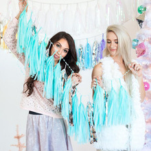 Happy Birthday Colored Tassel Decoration Garlands Wedding Supplies Babyshower Wreath Candy Bar Bunting Slingers Party Decor все цены