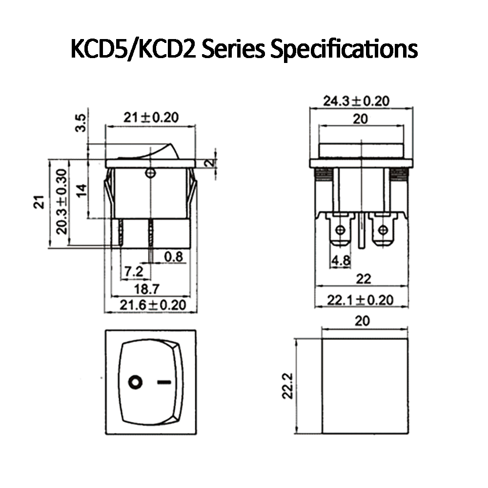 KCD5.普通KCD2系列规格书