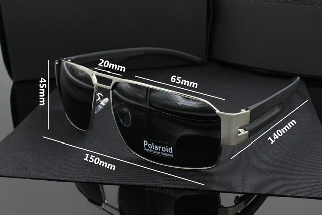 2016 Sale Large Rectangular Gunmetal Classic Vintage Retro Polarized Uv400 Uv 100% Fishing Driving Sunglasses 462