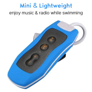 Image 3 - High Quality Mp3 Player 4GB IPX8 Waterproof Swimming MP3 For Summer Diving Outdoor Sport FM Radio Music Player With Earphone
