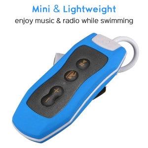 Image 3 - גבוהה באיכות Mp3 נגן 4GB IPX8 עמיד למים שחייה MP3 לקיץ צלילה חיצוני ספורט FM רדיו מוסיקה נגן עם אוזניות