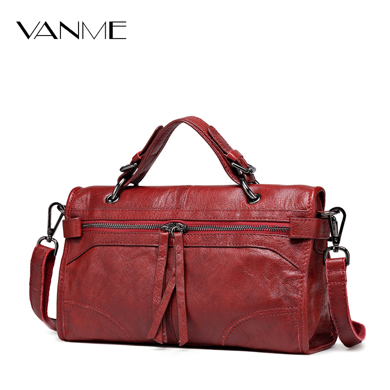 2017 Limited Real Zipper Women 100 Genuine Leather Handbag Winter Newest Design Shoulder Bag Famous Brand