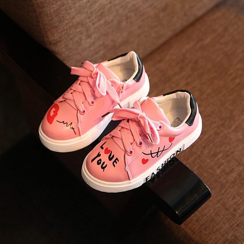 Kinderschoenen 2017 Sport Lace-Up Ademend Jongens Sneakers Merk - Kinderschoenen - Foto 2