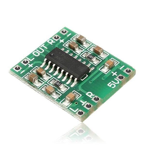 50pcs PAM8403 Module Super Mini Digital Amplifier Board 2 * 3W Class D Digital Amplifier Board Efficient 2.5 To 5V USB Power