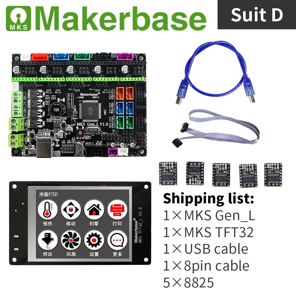 3d imprimante contrôleur kit MKS Gen_L et MKS TFT32 - 4