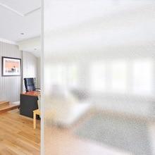 Funlife Glue-free static glass film sunscreen insulation blackout window sticker sun 45x200cm