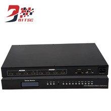SZBITC Matriz 4×4 HDMI 1080 P 4 em 4 12 V Controlador de Vídeo Wall Splitter Com Controle Remoto controle RS232
