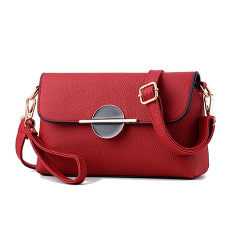 2017 New Womens pu Leather Handbag Tote Trendy Shoulder Bags Messenger Bag fashion Cross body bag women hand bag