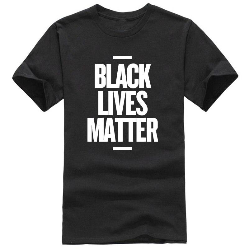 Showtly  Black Lives Matter Men's T Shirt BLM Tee Tops  Activist Movement Clothing Casual Cotton Short  Sleeve
