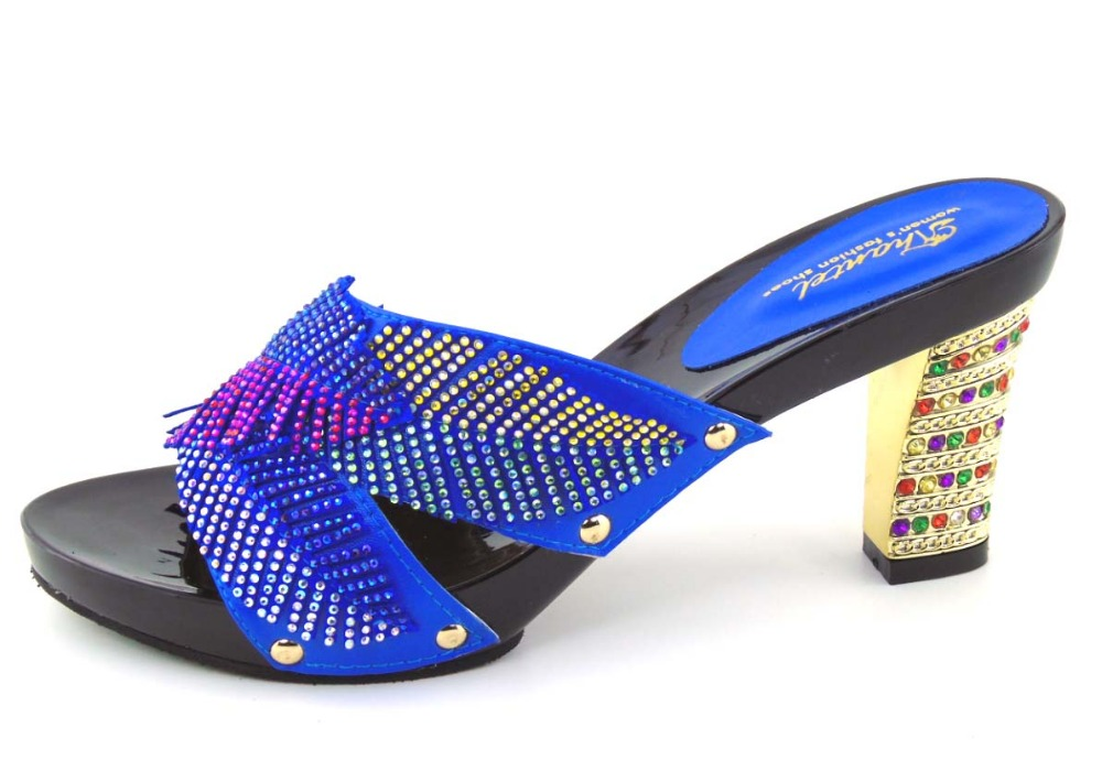 ФОТО Newest European Style High Heels Best Selling African Shoes Luxury Women Sandals! ! MOH1-32