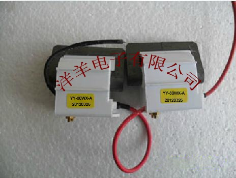 ФОТО HV Transformer YY-80W-A,HY-80TC-3T-2 High Current 80W for Laser power supply