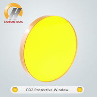 ZnSe Protective Window Lens CO2 Protect Glass For Laser Cutting Dia 38.1mm THK 3mm