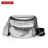 100% Genuine Leather Crossbody Bag for Women Sliver Rivet Shoulder Bag Zipper Brand Designer Women Fashion Letter Bags
