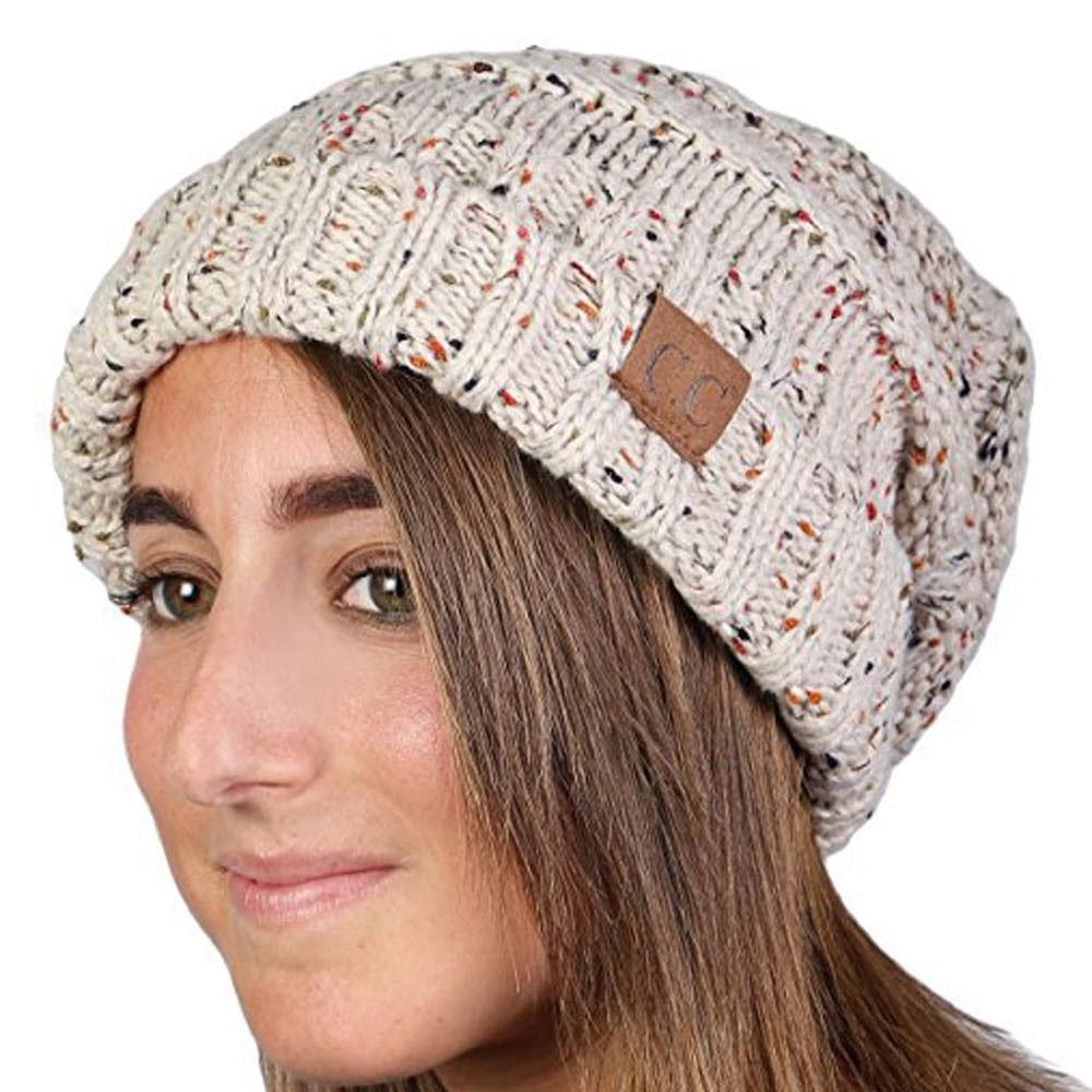 7e5562663b9 New Winter Knitted Wool Cap For Adults Women Men Unisex Folds Casual CC  labeling Skullies Gorros Hat Hip-Hop Skullies Beanie Hat