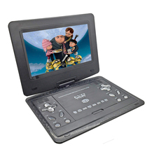 New 10.1inch Portable DVD Player Rechargerable Battery Game Player Radio Portable Analogue TV AV SD / MS / MMC Card Reader