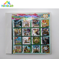 208 In 1 Ds Multicart Video Game Cartridge Card for DS 3DS Game Compilations Console Super Combo Multi Cart Jeux Cartridge