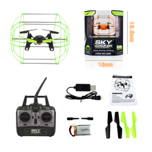 HeLIC MaX 1306 RC Drone Climbing Wall Quadcopter Barnleksaker Helikopter Toy Toy Remote Control Flygplan Quadrocopter Leksaker