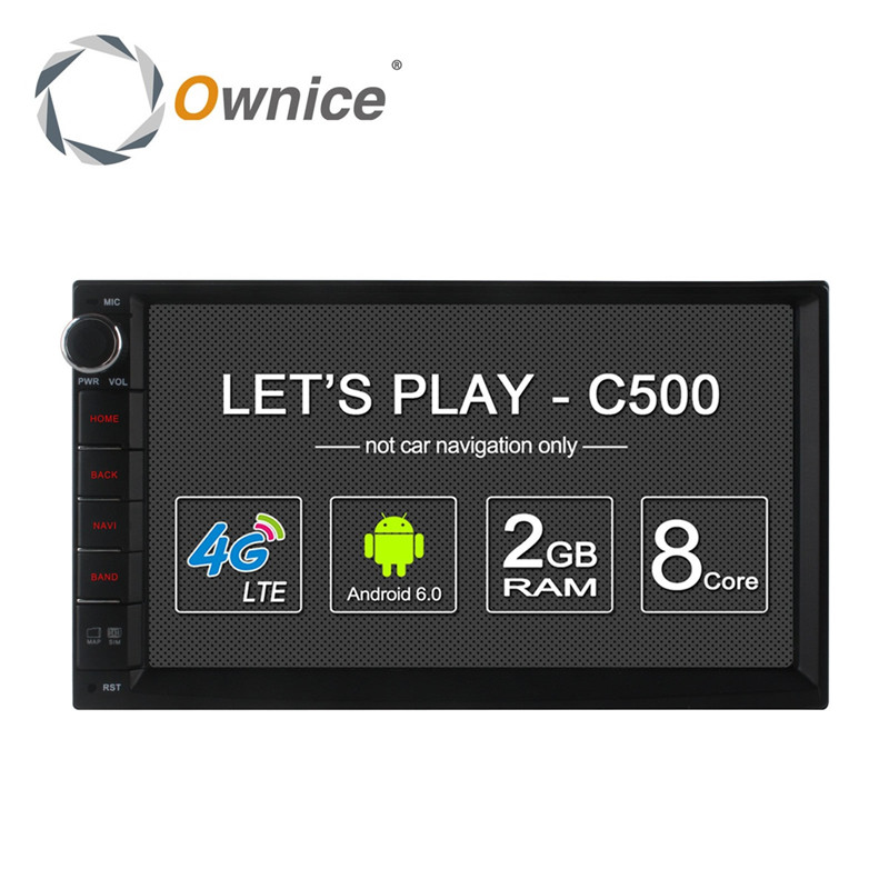 imágenes para 4G LTE Android 6.0 Octa Core Quad Core 4G LTE SIM Universal 2din Radio de coche Doble 2 din Estéreo Reproductor GPS 2 GB RAM 16 GB/32 GB ROM