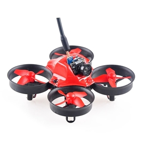 Makerfire MICRO FPV 64mm Mini with F3 EVO Flight Controller RC Racing Drone BNF for Spektrum DEVO FrSky Transmitter drone with camera rc plane qav 250 carbon frame f3 flight controller emax rs2205 2300kv motor fiber mini quadcopter