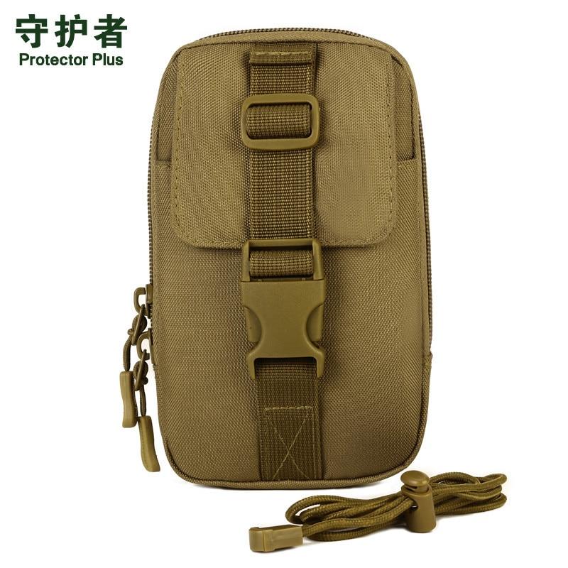 Чоловічий жіночий водонепроникний нейлон Носити кишені пояса 5.5 дюймів 6 дюймовий телефонний пакет EDC інструмент подорожі високу якість похила сумка