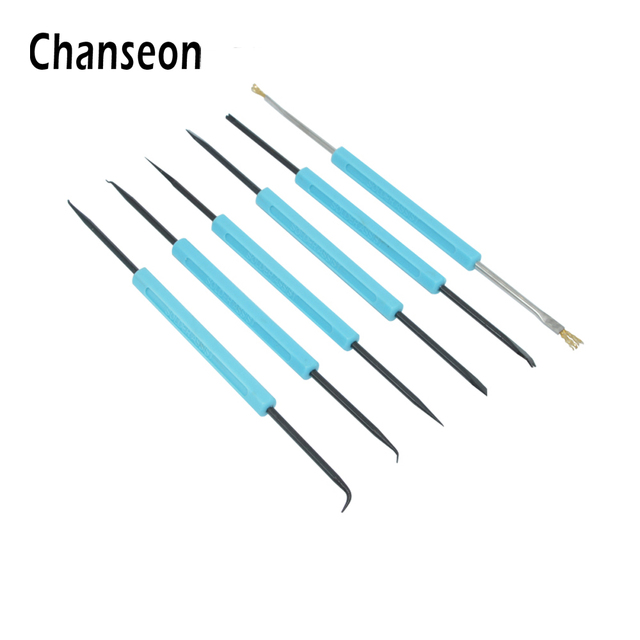 US $4 01 18% OFF 6pcs/set High Quality Solder Assist Precision Electronic  Components Welding Grinding Cleaning Repair Tool Kit Assembly Work Tool-in