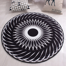 Home Textile Decoration Bohemia Geometric Printed Flannel Carpets Floor Rug Living Doormat Area Rug Chair Mat for Children Room цена 2017