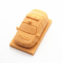Toy car manual soap DIY breast cake cooling soft ceramic molds clay silicone mold