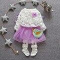 ¡ Venta caliente! nuevo 2016 Marca Bebé Recién Nacido Net Yarn Princess Dress Vestido de Partido Del Bebé Babywear Infantil Kids Niños Ropa de Bebé