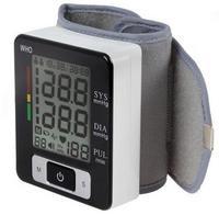Healthsweet wrist digital blood pressure monitor portable tonometer LCD display sphygmomanometer health diagnostic tool