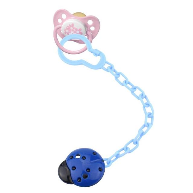 1PC Newborn Baby Pacifier Clips Nipple Chain Cute Dummy Clip Baby Kids Soother Nipple Toys Holder Baby Care Accessories 4