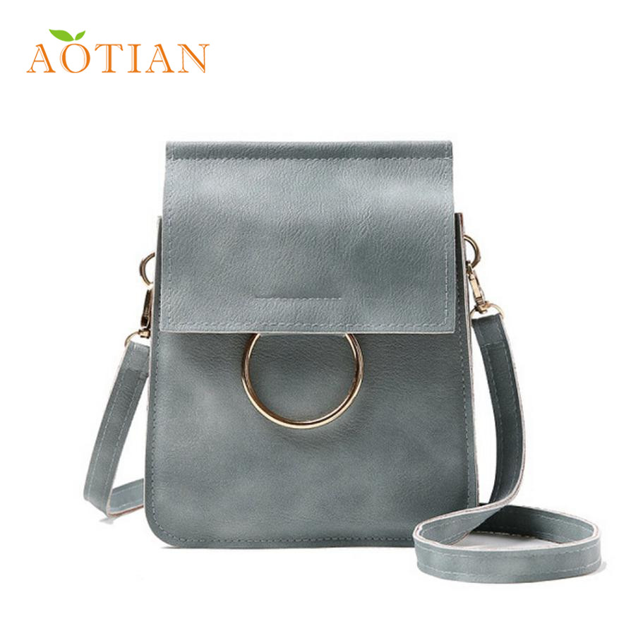 Aotian Elegance New Fashion Zero Purse Bag Leather Handbag Single Shoulder Messenger Phone Bag Bolso LFY120 Dropshipping