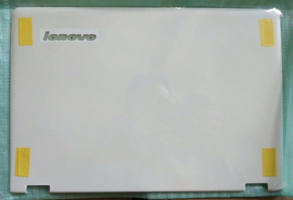 New Original Lenovo Yoga 3 11 LCD Back Cover Rear Lid White or Orange new original lcd back rear cover lid for lenovo yoga 3 pro laptop orange am0ta000110