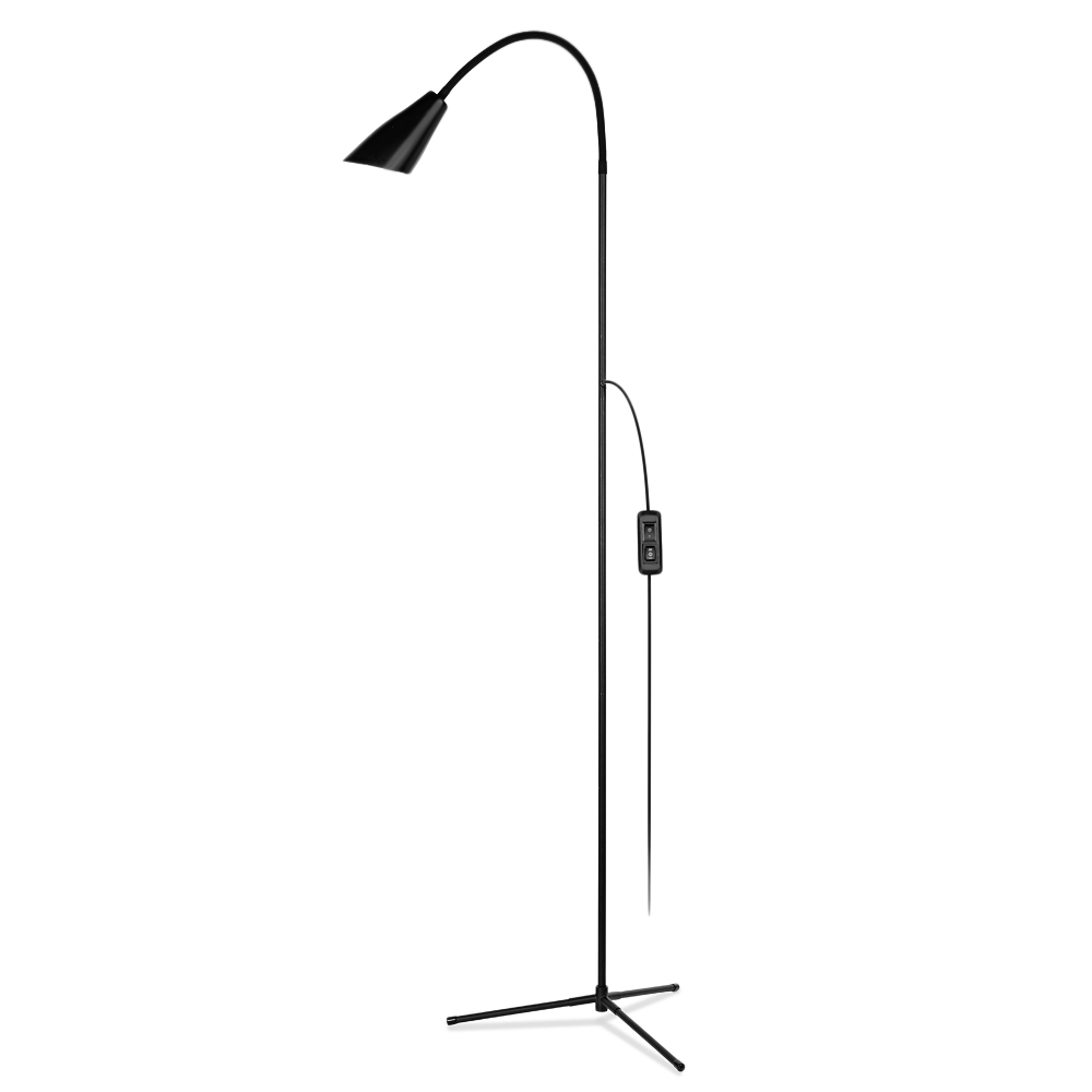 Modern Freely Bent Indoor Adjustable Height Floor Lamps For LED Light Clamp Dimmable Reading Desktop Lamp Tripod Study Room