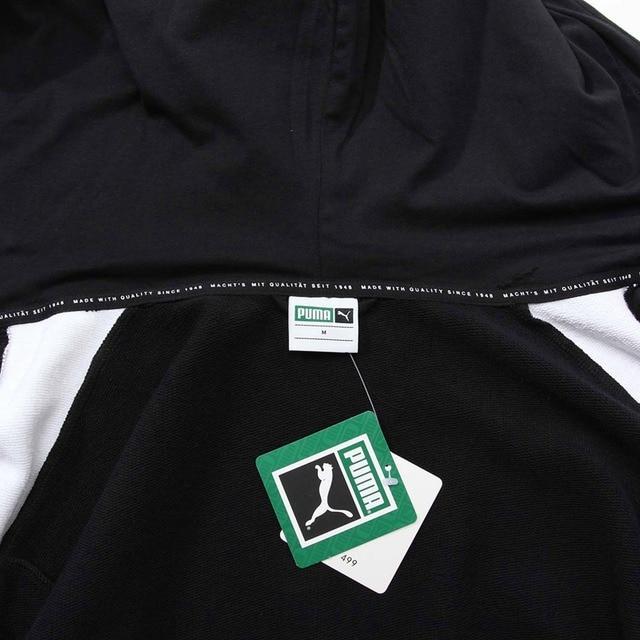 Original New Arrival 2018 PUMA Classics T7 Logo FZ Hoody Men's jacket Hooded Sportswear  4