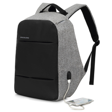 Men's 15.6 Inch Anti Theft Backpacks –  With USB and Water-resistant Laptop Bag