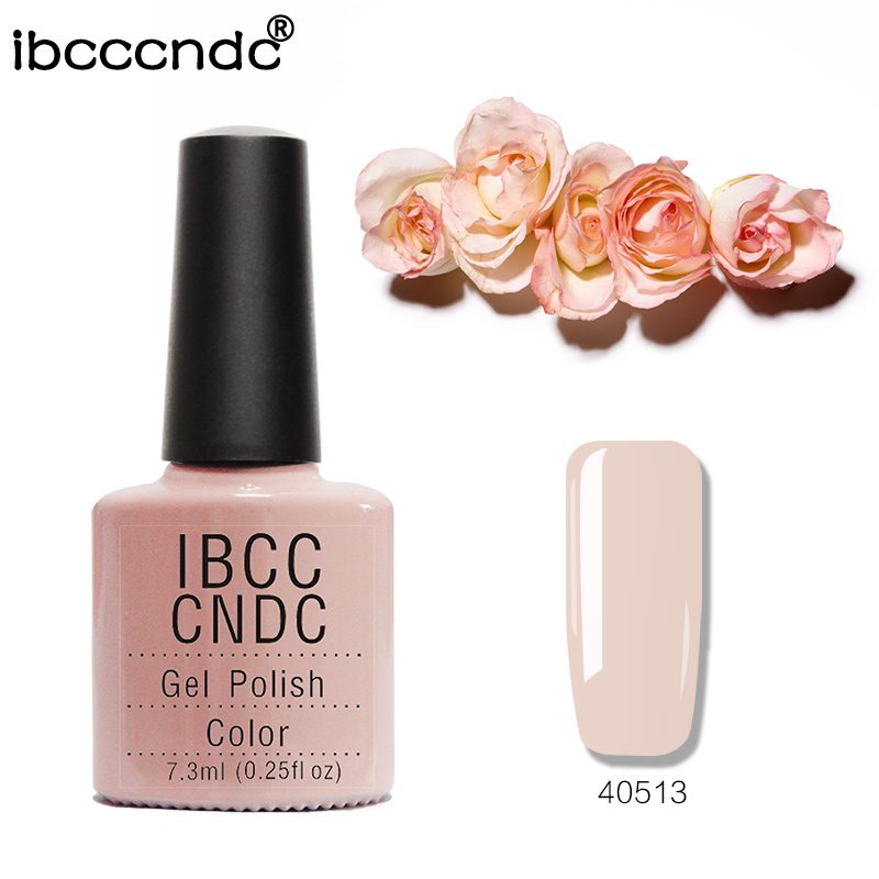 79 Rena färger Nyaste IBCCCNDC Nail Larn Soak Off UV / LED Lamp Gel Nagelkollektion För Salong Nail Art Lacquer 1 PC / Lot 40513