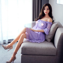 Top quality Sound lifelike silicone sex doll skeleton, adult sex toys  solid intelligent heating silicone doll XG10