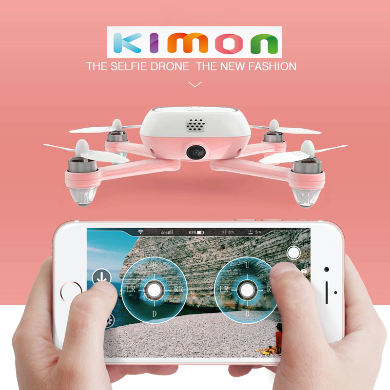 2018 GPS Brushless Motor palm quadcopter with HD 4K camera selfie RC drone 6 pigment for choose image