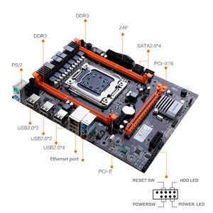 Image 4 - Huananzhi x79 4 m placa mãe lga 2011 usb2.0 sata2 suporte reg ecc memória e xeon e5 processador