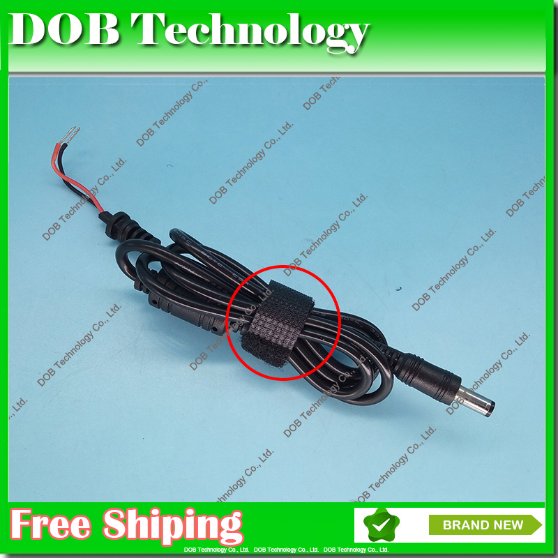 5PCS DC 5.5 x 2.5 5.5*2.5mm Power Supply Plug Connector With Cord  Cable For Toshiba Asus Lenovo Laptop Adapter
