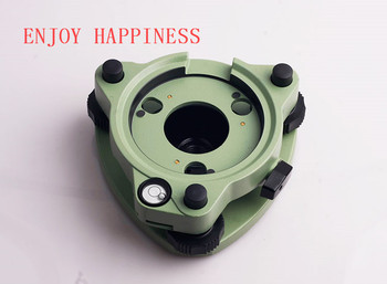 For Sale Three-Jaw Green Tribrach W/Out Ooptical Plummet Fits Leica