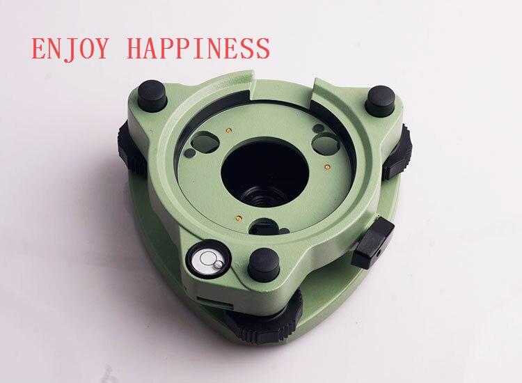 Para a Venda de Três-Maxila Base Nivelante Verde W/Out Ooptical Despencar Leica Cabe
