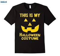 GILDAN 100 Cotton O Neck Printed T Shirt This Is My Halloween Costume T Shirt Jack